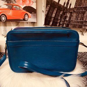 Louis Vuitton Epi Blue Trocadero